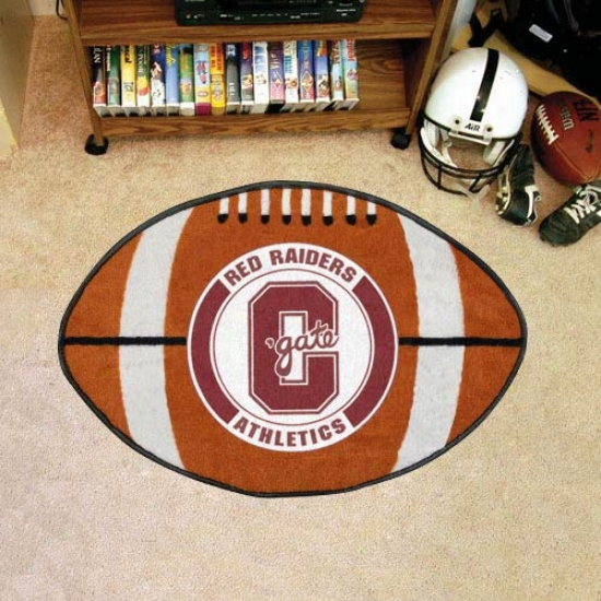 Colgate Raiders Football Fan Mat