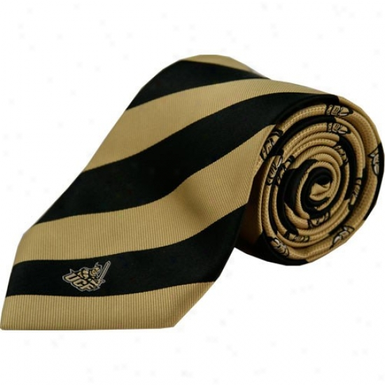 Colony Sportswear Ucf Knights Rep Striped Tie