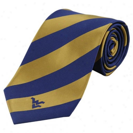Colony Sportswear West Virginia Mountaineers Rep Stripe Tie