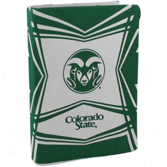 Colorado State Rams Stretchable Book Cover