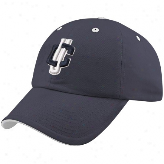 Connecticut Huskies Hatss : Rise to the ~ of Of The World Connecticut Huskies (uconn) Navy Bkue Crew Adjustwble Hats