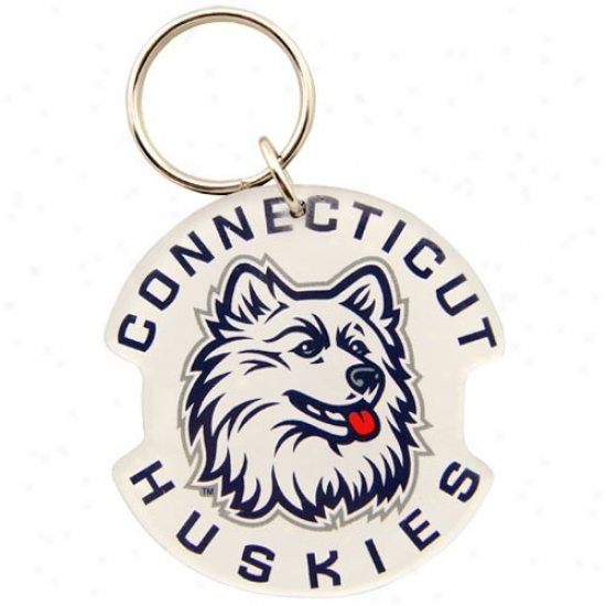 Connecticut Huskies (uconn) High Definition Keychain