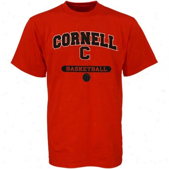 Cornell Big Red Shirts : Russell Cornell Big Red Basketball Shirts