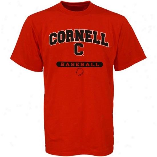 Cornell Big Red Tshirts : Russell Cornell Big Red Baseball Tshirts
