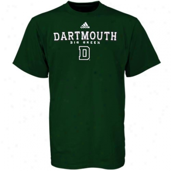Dartmouth Big Green Tees : Adidae Dartmouth Great Green Green True Basic Tees
