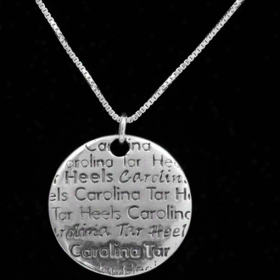 Dayna U North Carolina Tar Heels (unc) Sterling Silver Infinity Necklace