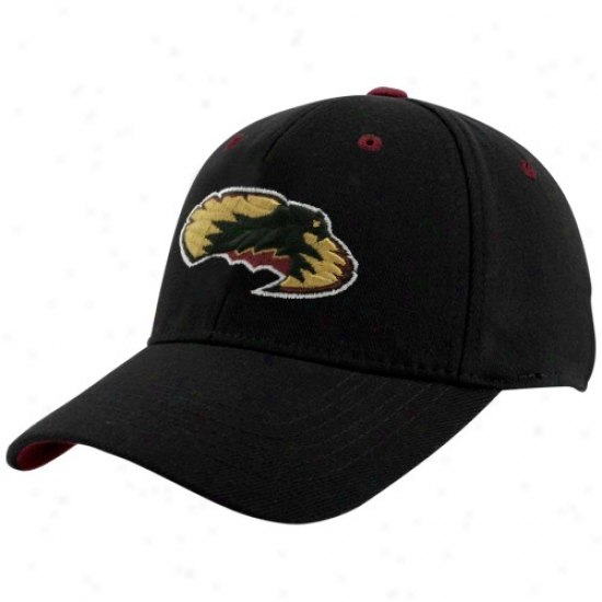 Denver Pioneers Merchandise: Top Of The World Denver Univresity Pioneers Black Basic Logo 1-fit Hat