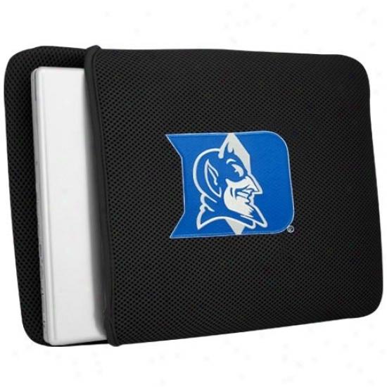 Duke Blue Devils Black Mesh Laptop Protector