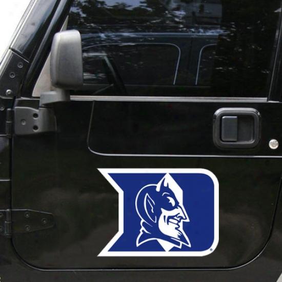 Duke Blue Drvils Car Magnet