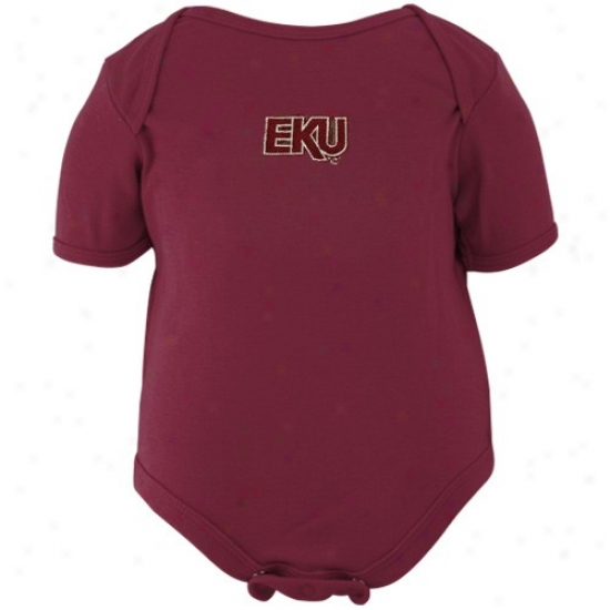 Eastern Kentucky Colonels Maroon Embroidered Creeper