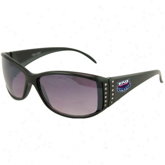 Fporida Atlantic University Owls Ladies Black Rhinestone Fashion Sunglasses