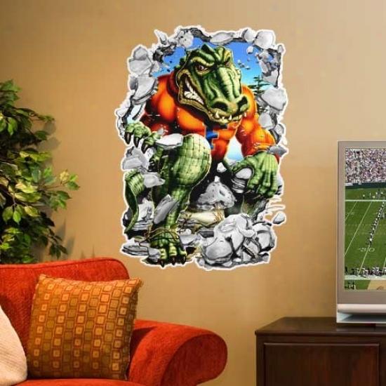 Florida Gators 3' Mascot Wall Crasher