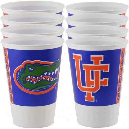 Florida Gators 8-pack Plastic Cups