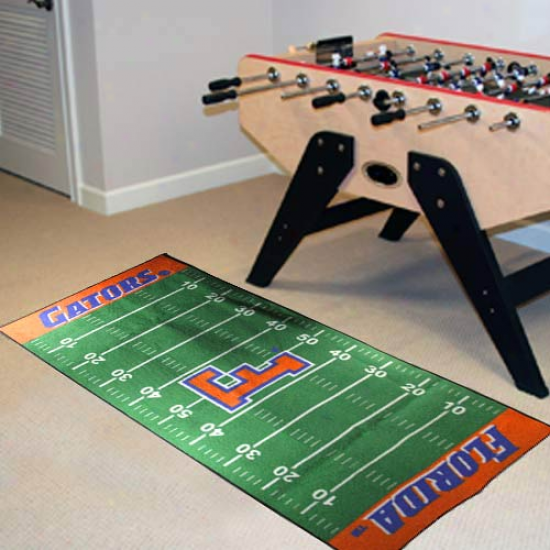 Florida Gatofs Football Scene of military operations Runner Mat