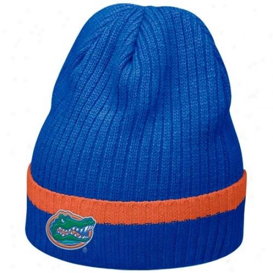 Florida Gators Gear: Nike Florida Gators R0yal Blue 2010 Sideline Cuffed Knit Beanie
