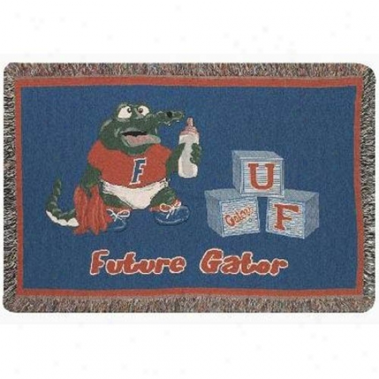Florida Gators Mini Woven Blanket Throw