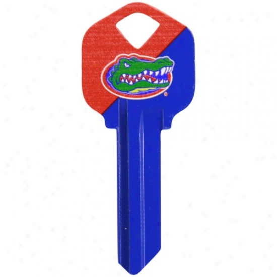 Florida Gators Royal Blue-orange House Key