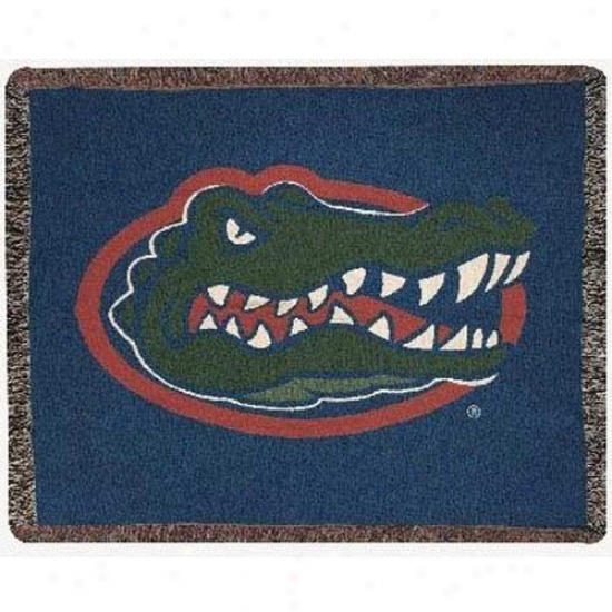 Florida Gators Tapestry Woven Throw Blanket