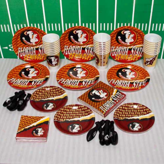 Florida State Seminoles (fsu) Ultimate Tailgate Party Pack