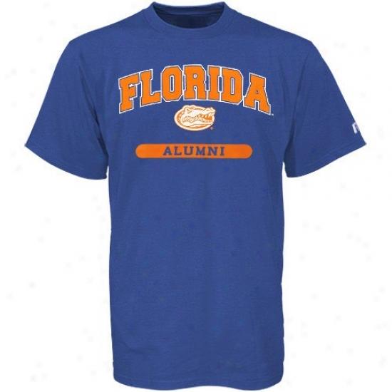 Gators Shirts : Russell Gators Royal Blue Alumni Shirts