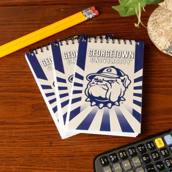 Georgetown Hoyas 3-pack Memo Books