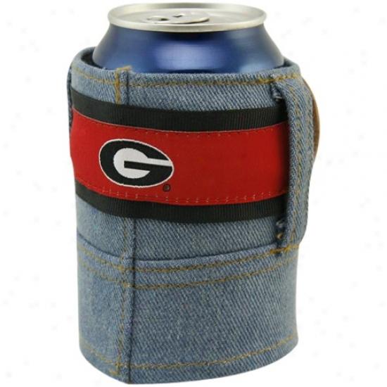 Georgia Bulldogs Brew Jean Can Coolie