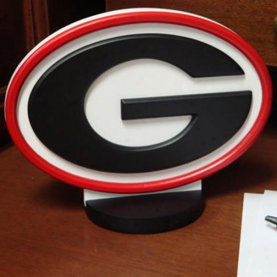 Georgia Bulldogs Desk Logo Art