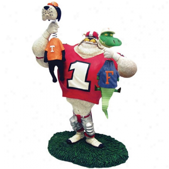 Georgia Bulldogs Double Choke Rivalry Figurine