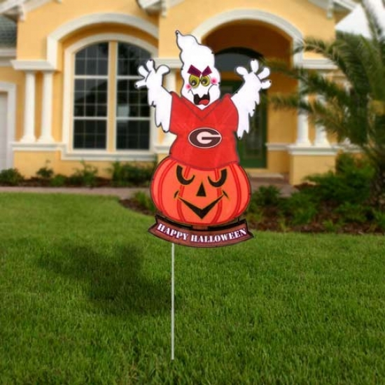 Georgia Bulldogs Halloween Light-up Ghost Figurine