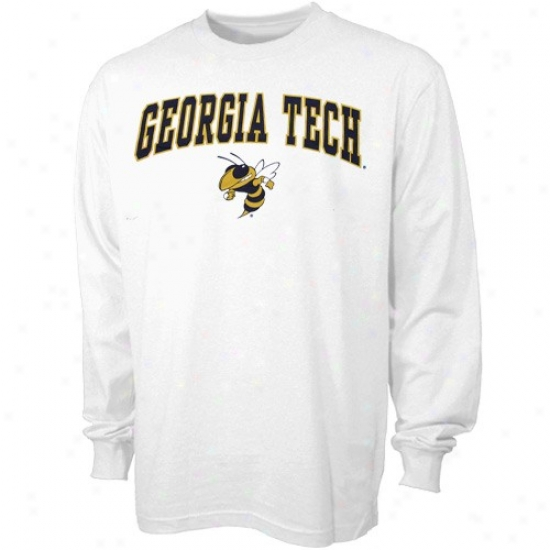 Georgia Tech Attire: Georgia Tech Yellow Jackets Happy Naked Essentials Long Sleeve T-shirt