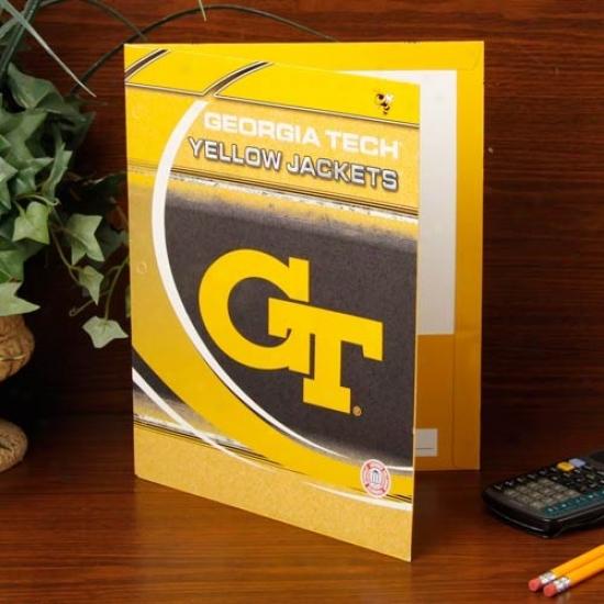 Georgia Tech Yellow Jackets Folder