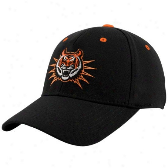 Idaho Condition Bengals Caps : Top Of The World Idaho State Bengals Black Basic Logo 1-fit Caps