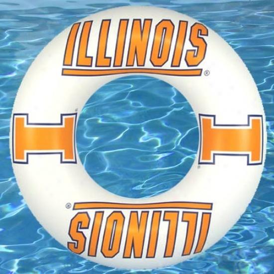 Illinois Fighting Illini Inner Tube Pool Float