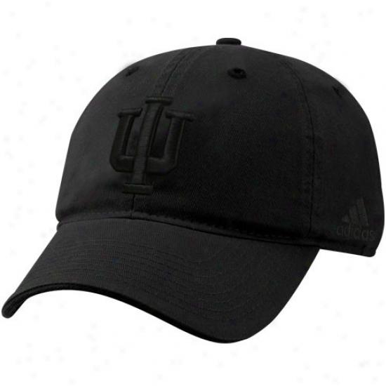Indkana Hoosiers Hatw : Adidas Indiana Hoosiers Black On Negro Flex Qualified Hats