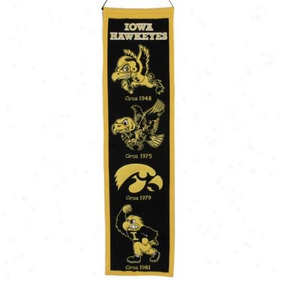 Iowa Hawkeyes Black Heritage Banner