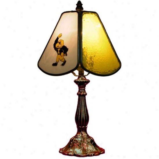 Iowa Hawkeyes Small Table Lamp