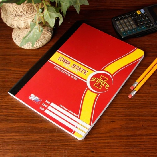 Iowa State Cyclones Composition Book