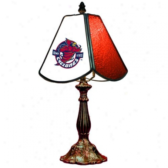 Iowa State Cyclones Small Table Lamp