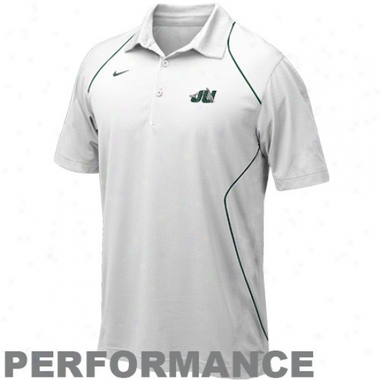 Ju Dolphins Golf Shirt : Nike Jacksonville University Dolphins Pure 2010 Snap Count Coaches Sideline Performance Golf Shirt