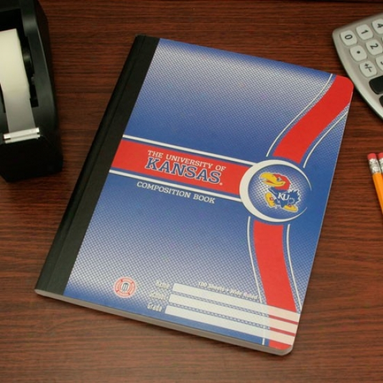 Kansas Jayhawks Composition Book