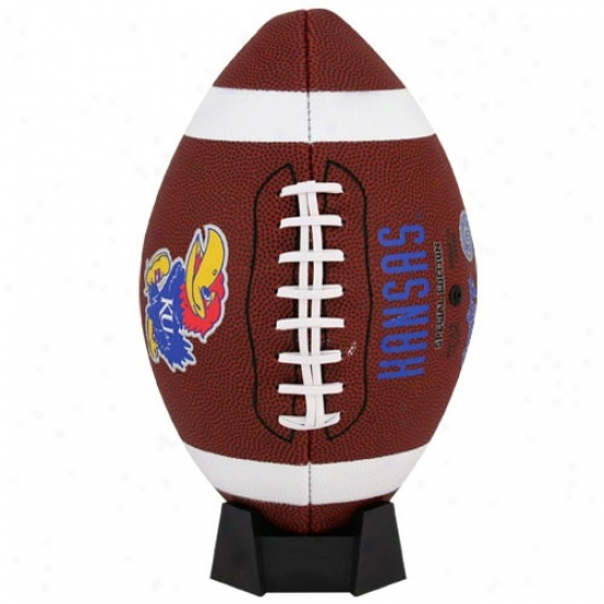 Kansas Jayhawks Fuli-size Game Time Football