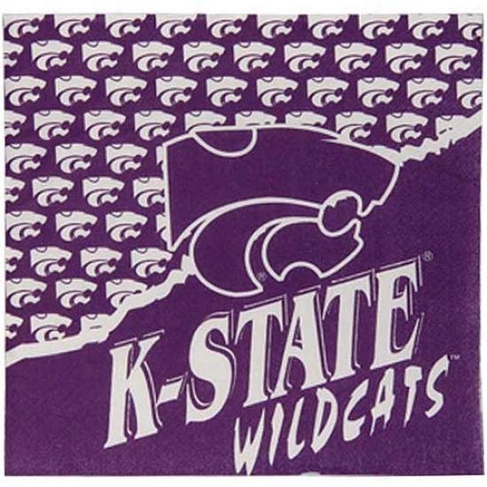 Kansas State Wildcats 25-pack Extensive Beverage Napkins