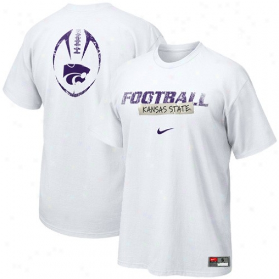 Kansas State Wildcats Apparel: Nike Kansas State Wildcats Pale Tezm Issue T-shirt