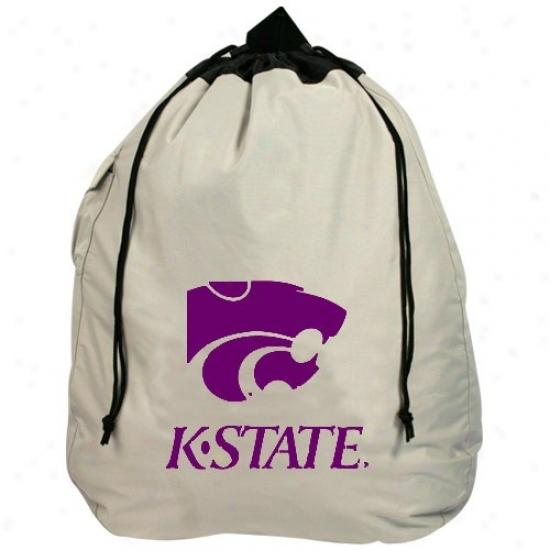 Kansas State Wildcats Heavy Duty Drawstring Laundry Bag