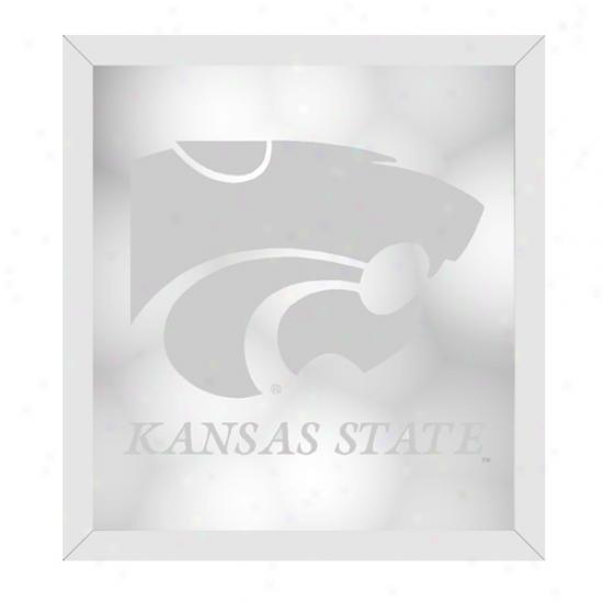 Kansas State Wildcats Wall Mirror
