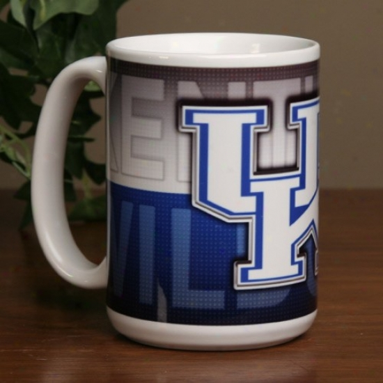 Kentucky Wildcats 15 Oz. Ceramic Mug