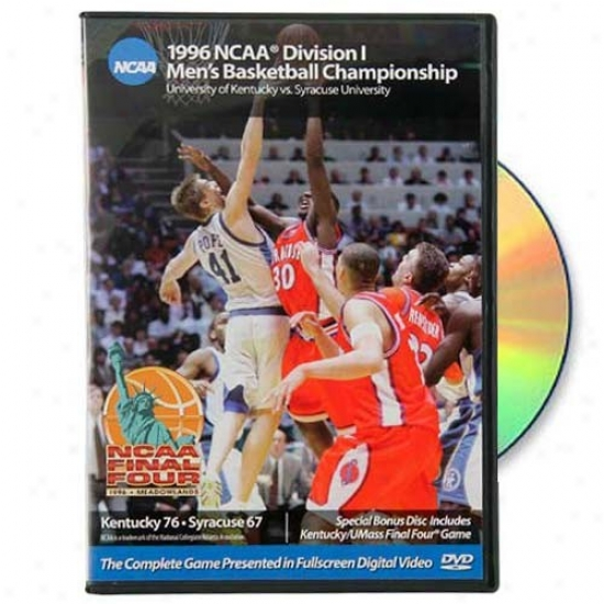 Kentucky Wildcats 1996 Ncaa Basketball Champions Dvd