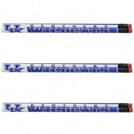 Kentufky Wildcats 6-pack Pencil Set
