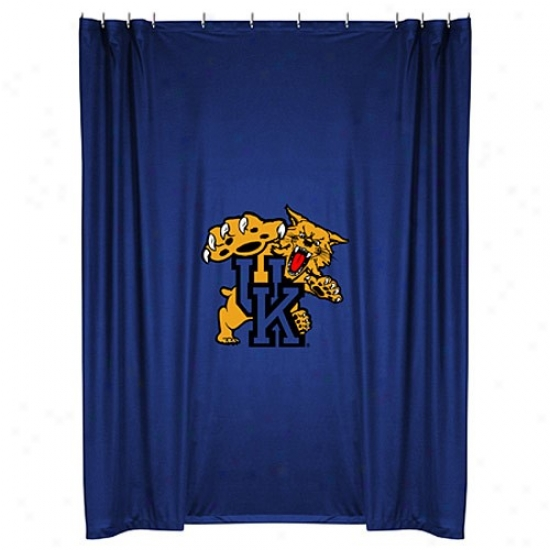 """kentucky Wildcats 72""""x72"""" Shower Curtain"""