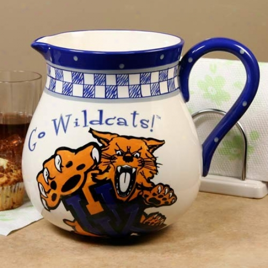 Kentucyk Wildcats Gameday Ceramic Pitcher